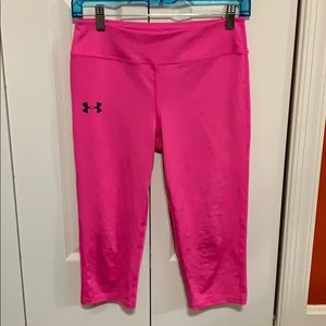 Under Armour Capri Fitted Pants